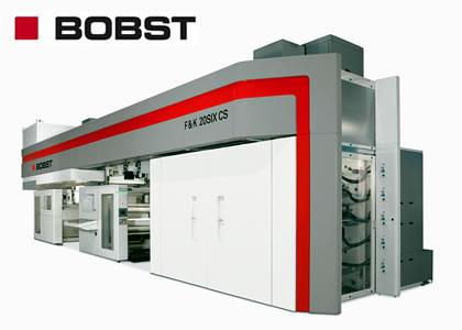 センタードラム式フレキソ印刷機(Bobst Bielefeld GmbH)