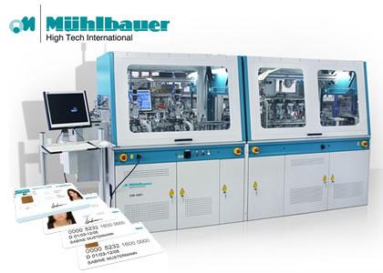 カード、RFIDタグ製造装置(Muehlbauer GmbH & Co. KG)