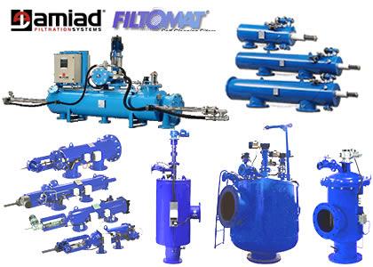 自動洗浄式ろ過装置(Amiad Water Systems)