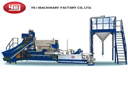 プラスチック用再生機(YE I MACHINERY FACTORY CO., LTD. (一億機器廠股份有限公司))