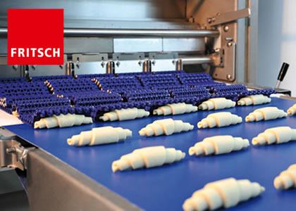 ラミネータライン・クロワッサン成型機 (FRITSCH GmbH)
