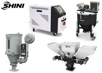 プラスチック成型周辺機器(Shini Plastics Technologies Inc.)