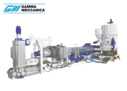 プラスチック素材用リサイクルシステム(Gamma Meccanica S.p.A)