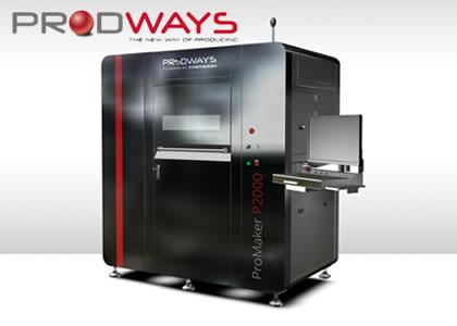 粉末焼結3Dプリンタ(Prodways社)