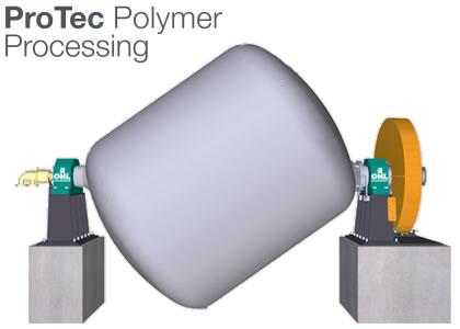 バッチ式固相縮重合装置(Protec Polymer Processing GmbH)
