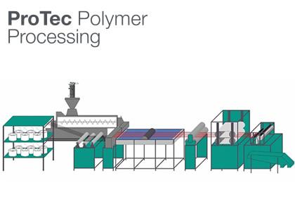 長繊維強化熱可塑性樹脂製造装置(Protec Polymer Processing GmbH)