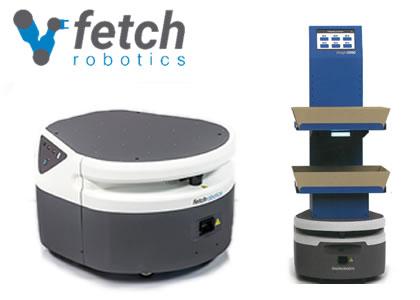 自律走行型サービスロボット (Fetch Robotics, Inc.)