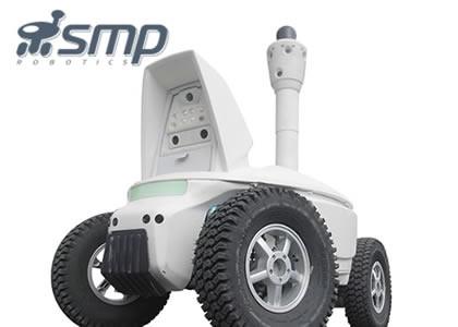 自律走行型車両ロボット(SMP Robotics systems社)
