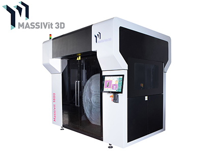 大型造形向け3Dプリンタ(Massivit 3D Printing Technologies Ltd.)