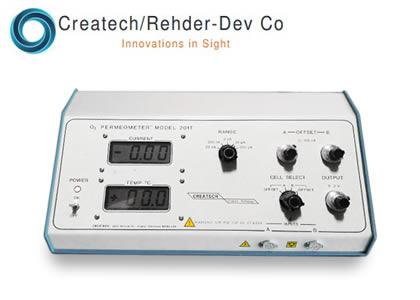 コンタクトレンズ用 測定装置 (Createch/Rehder Dev Co.)
