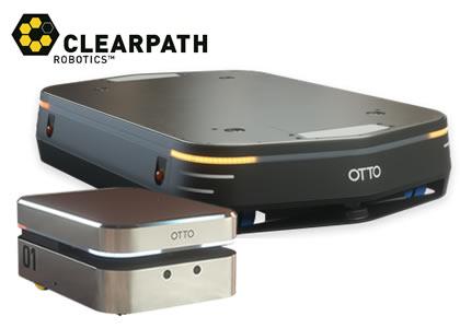 自律走行型搬送ロボット(Clearpath Robotics社)