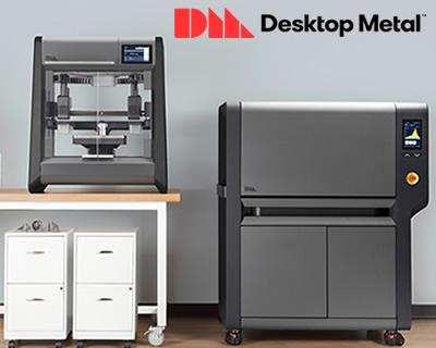 金属3Dプリンタ(Desktop Metal社)