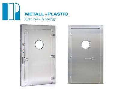 気密ドア (Metall+Plastic)