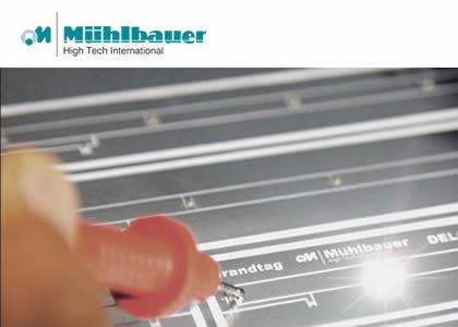 フリップチップLED (Muehlbauer GmbH & Co. KG)
