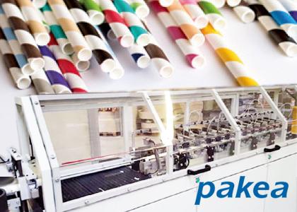 紙ストロー成形機(Pakea)
