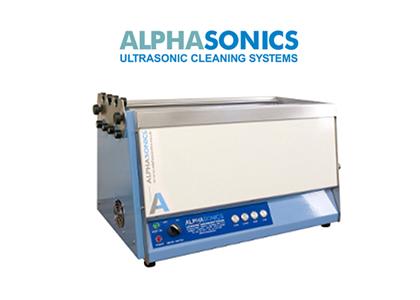 超音波洗浄装置(AlphaSonics)