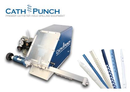 カテーテル穴あけ機(Cath-Punch inc.)