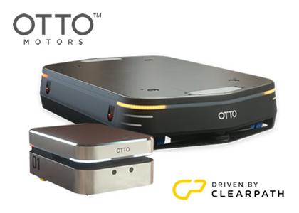 自律走行型搬送ロボット(Clearpath Robotics社 OTTO Motors