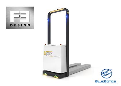自律走行フォーク型搬送ロボット(F3-Design B.V.社)