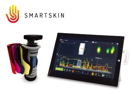 容器型無線圧力センサー(SmartSkin Technologies)