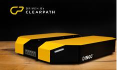 無人自律走行車両(屋内研究用プラットフォーム)「DINGO」(Clearpath Robotics社)