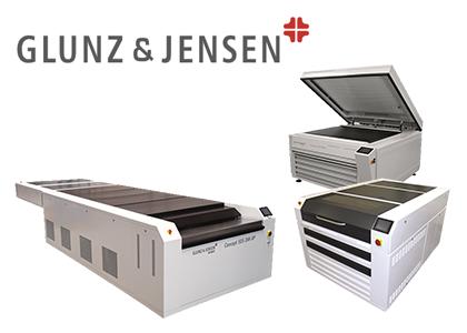フレキソ製版洗い出し装置(Glunz&Jensen A / S)