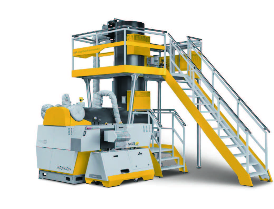 PET・プラスチック リサイクルシステム(Next Generation Recycling machinen GmbH)