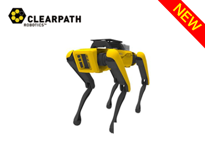 自律4足歩行ロボット(ROSパッケージ)「SPOT」(Clearpath Robotics社)