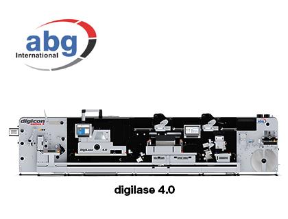 ラベル用レーザー加工機 Digilase 4.0(AB Graphic International)