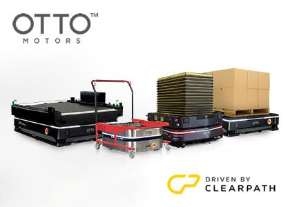自律走行型搬送ロボット(Clearpath Robotics社 OTTO Motors)
