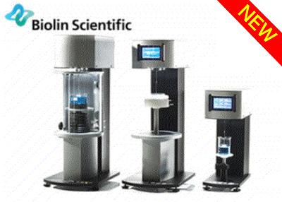 QCM-D測定装置 / LB膜作成装置 / 表面張力 / 接触角計測器       (Biolin Scientific AB)